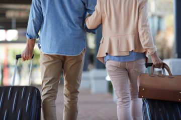 Expats Interview Abreise Flughafen